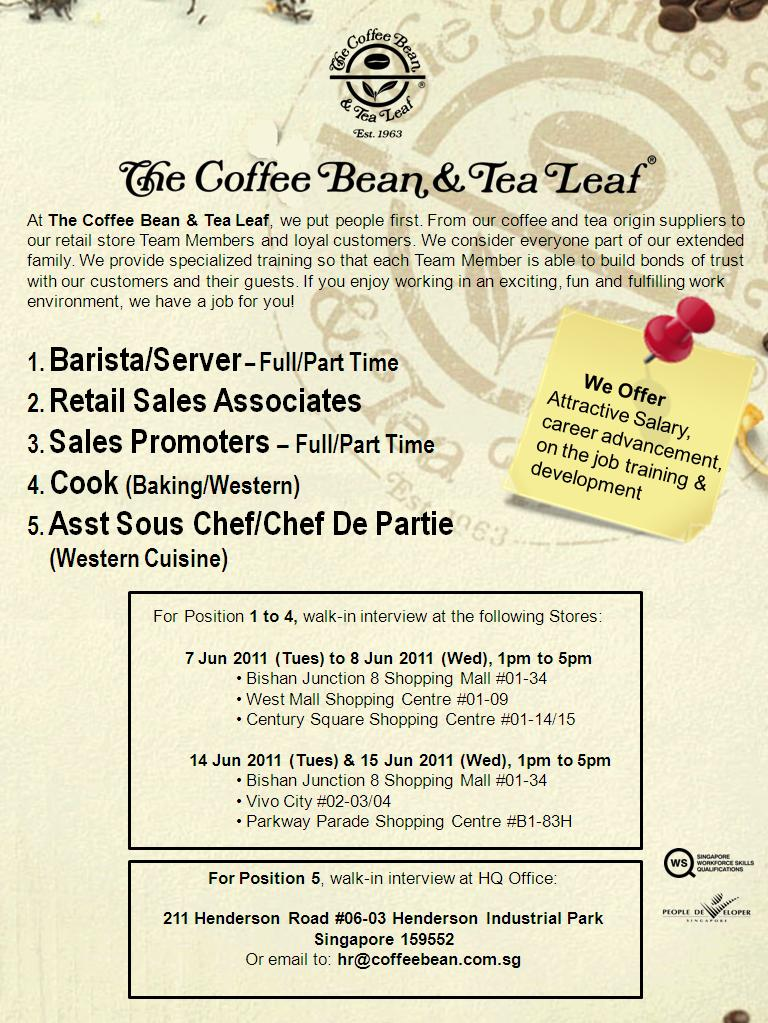 Erc Institute Blog Coffee Bean Is Hiring