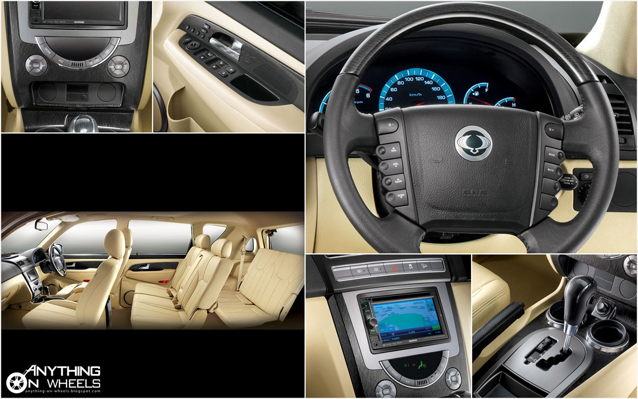 ANYTHING ON WHEELS: Mahindra debuts SsangYong brand in ...