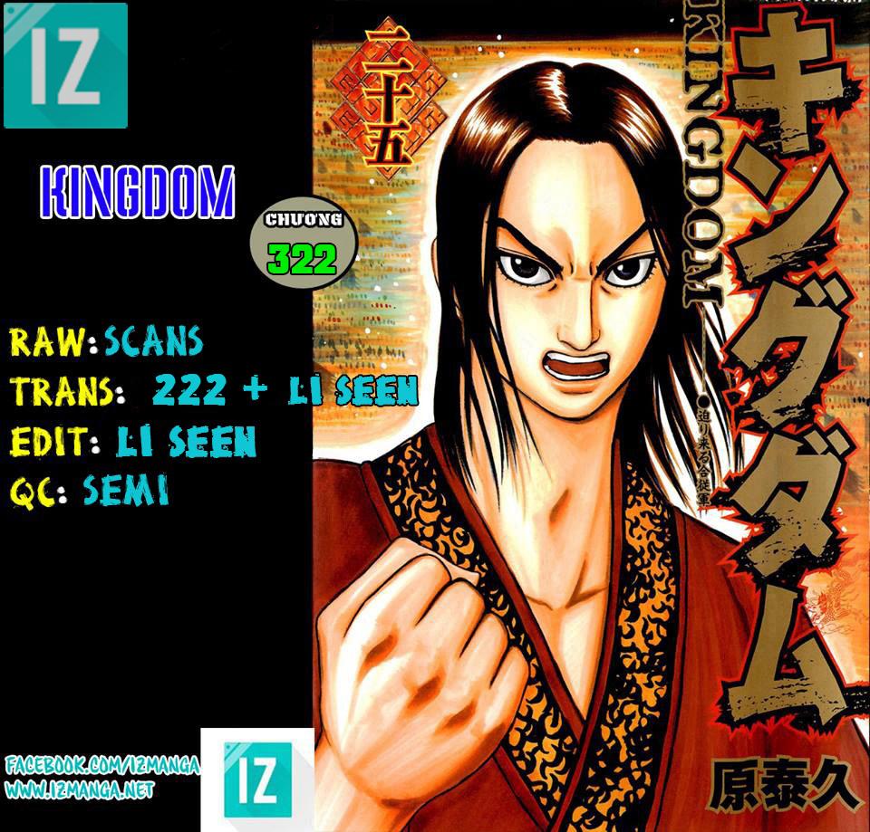 Kingdom – Vương Giả Thiên Hạ (Tổng Hợp) chap 322 page 1 - IZTruyenTranh.com