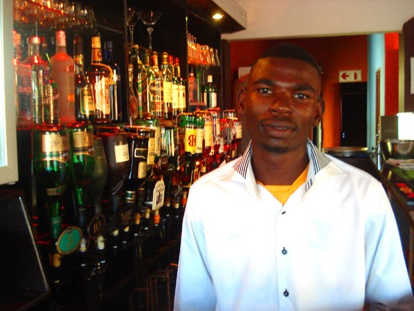 Our friendly bar-tender will cater to your every taste.