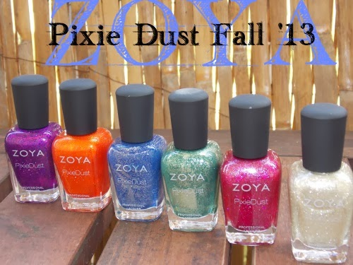 zoya, zoya pixie dust collection, blog beauté