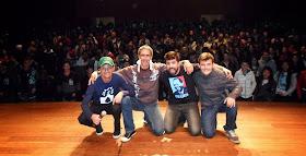 Junto com Márcio Américo, Eduardo Jericó e Rodolfo Pereira