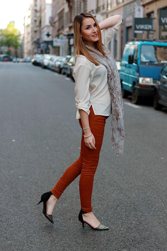 jeans caramel