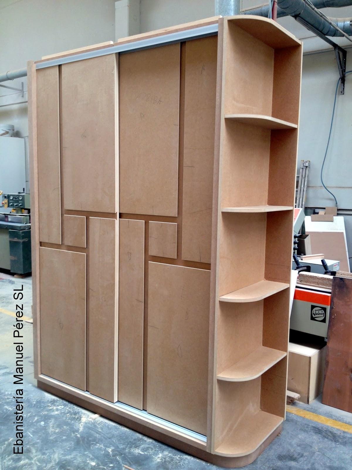 Ebanisteria carpinteria manuel perez zaragoza armario for Diseno puerta