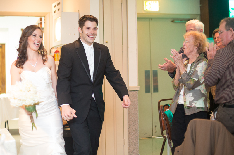 palm beach florida wedding reception bride and groom photo