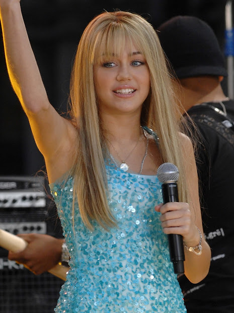 hannah montana hair and beauty