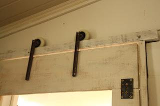 Bricolage bidouillage pour une porte - Fabriquer porte coulissante suspendue ...
