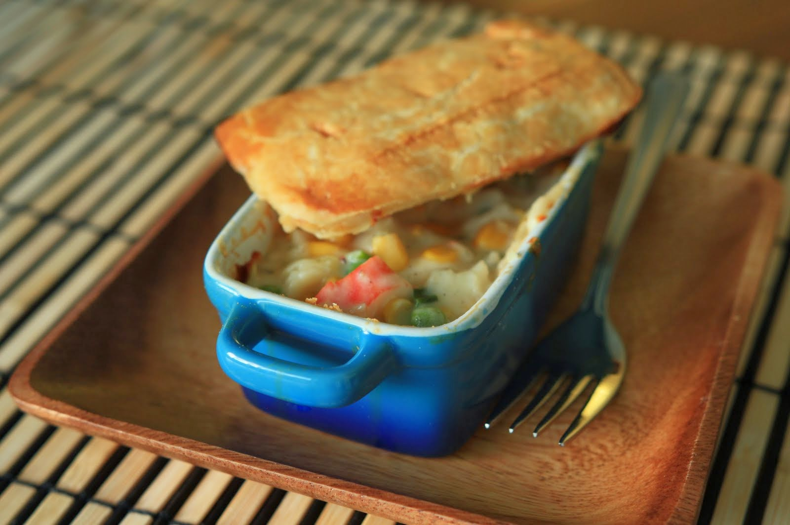 Asian Seafood Pot Pie