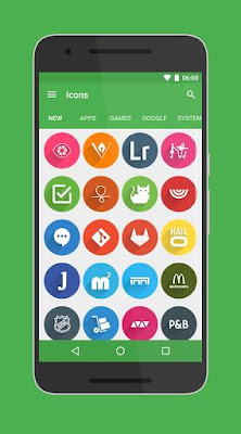 Rondo Icon Pack 3.1 APK for Android terbaru