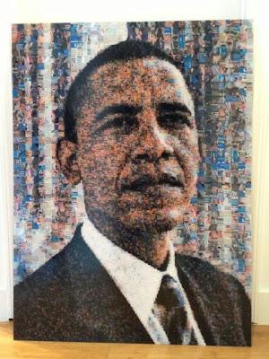 foto del cuadro de obama de un millon de dolares regalo cumpleaños lil wayne birdman