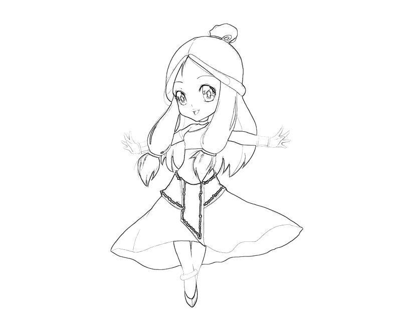 avatar-katara-cute-coloring-pages