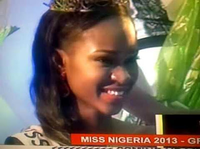 miss nigeria 2013 winner