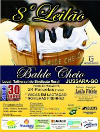 DIA 30 - 8º LEILÃO BALDE CHEIO