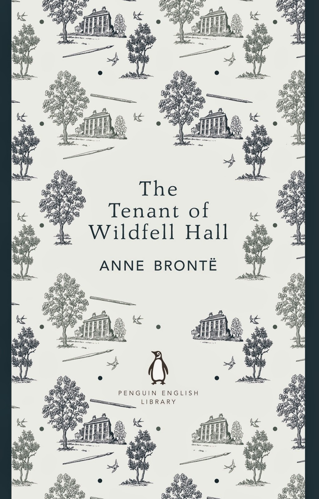 Pneguin English Library book cover of Tenant of Wildfell Hall by Anne Bronte