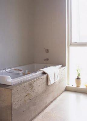 Concrete Bathtub Base
