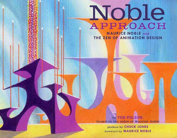 Book Cover Design Near Me : The noble approach maurice and zen of animation