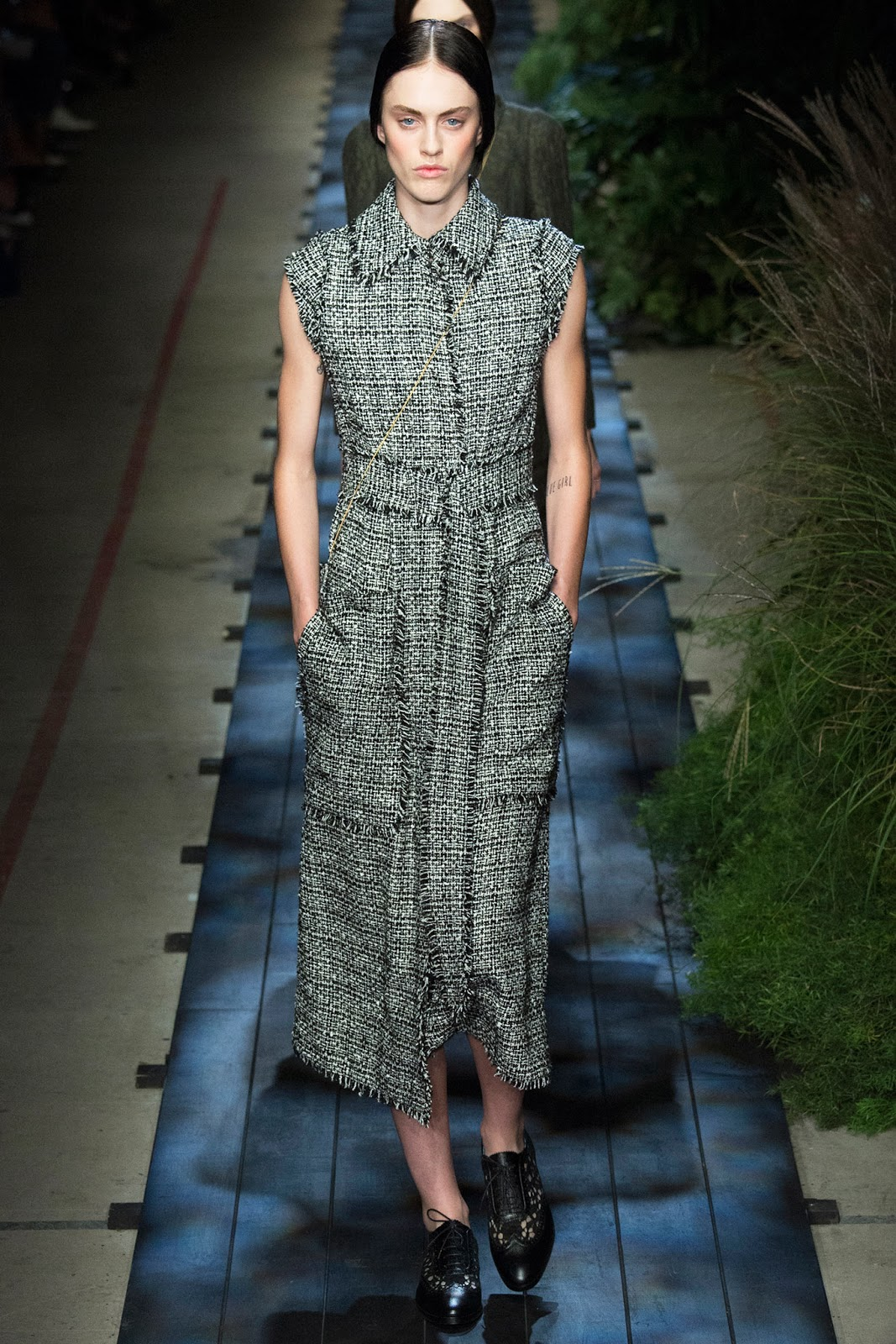 spring/summer 2015 trends / shirtdress / history of shirt dress / erdem spring 2015 / via fashioned by love british fashion blog