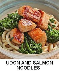 Udon and Salmon Noodles