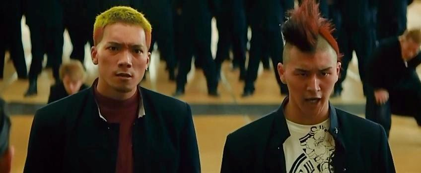 kenichi brother crows zero 3 explode