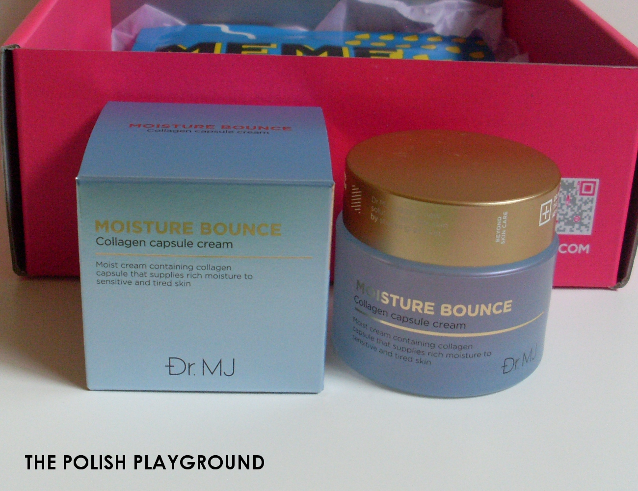 Memebox Special #81 The Next Best Thing in Skin Care Unboxing - Dr.MJ Moisture Bounce Collagen Capsule Cream