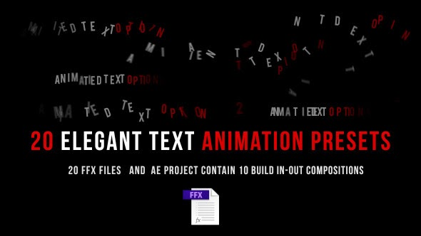 VideoHive Animated Text