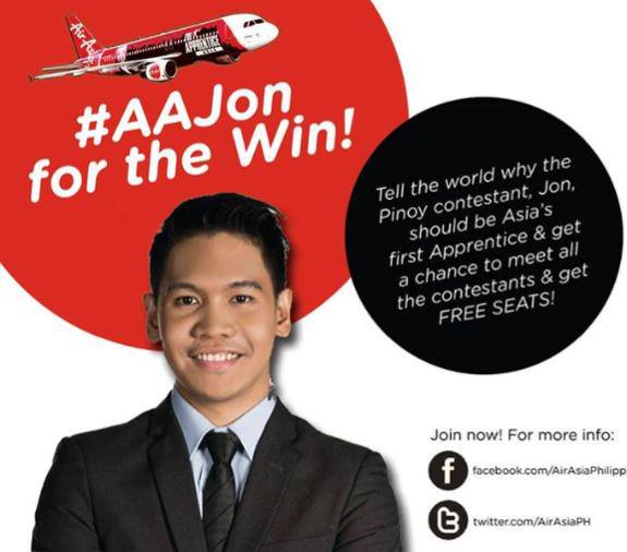 Air Asia Malaysia, Andrea Loh, buatan Malaysia, inspiration, Jonathan Yabut, love, The Apprentice Asia, The Apprentice Asia Season 1 Finale, winner of The Apprentice Asia