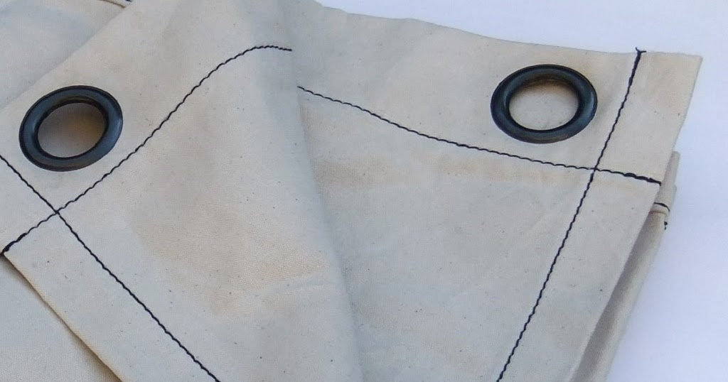 Livd / Naai- en stoffeeratelier: Industriële canvas gordijnen