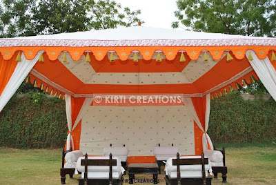 Indian Garden Tent