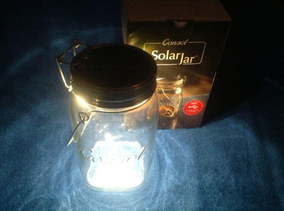 The Consol Solar Jar