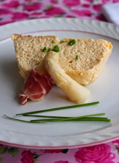 pastel de esparragos asparagus pudding decocinasytacones