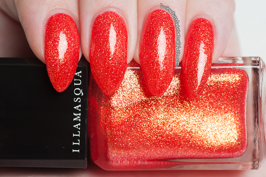 Illamasqua Shattered Star nail polish Glamore Collection Marquise