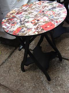 mesa artesanato