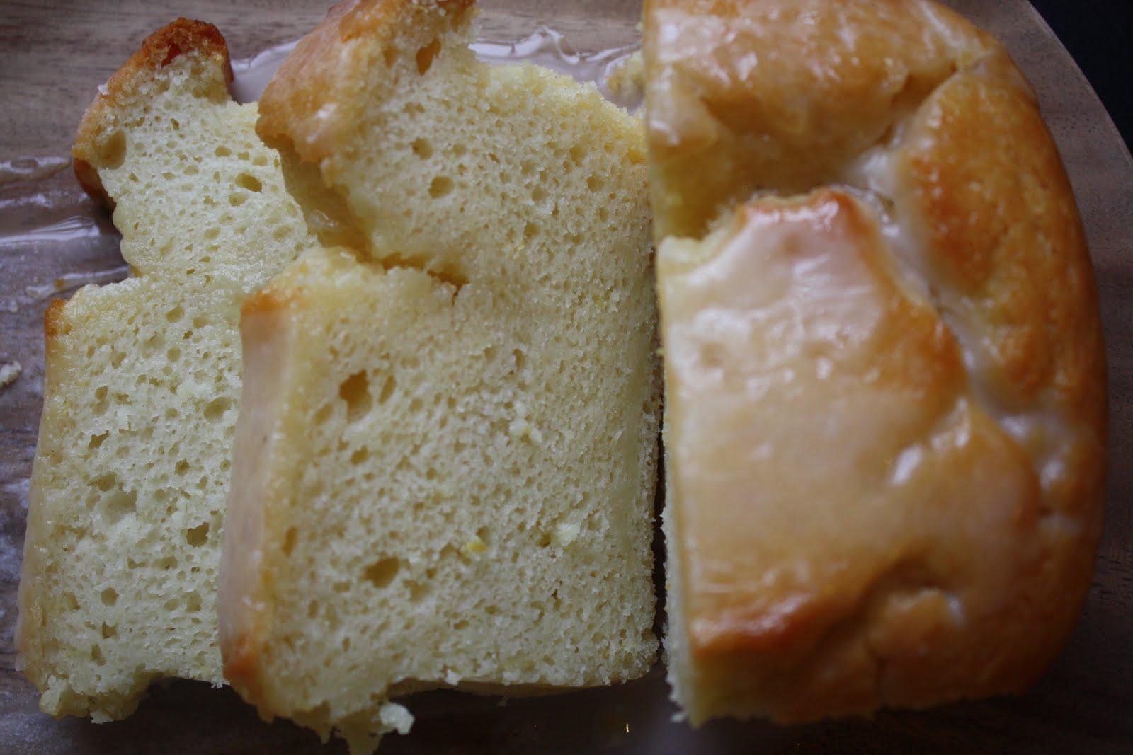 Sparrows & Spatulas: Ina's Lemon Yogurt Cake with Lemon Glaze
