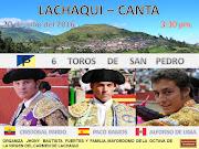 TRADICIONAL CORRIDA DE LACHAQUI - CANTA