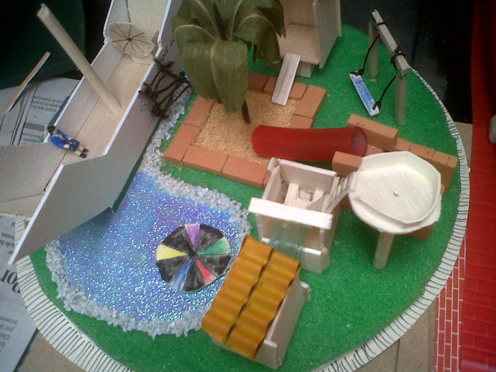 Eli arquitectura parque infantil - Como hacer un parque infantil ...