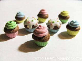 Fimo Cupcakes 11     wesens-art.blogspot.com