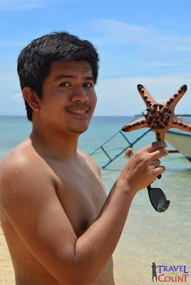 Starfish at Starfish Island, Palawan