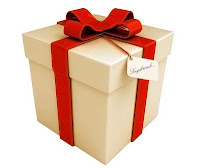 hediye paketi, armağan kutusu