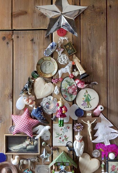 Objetos De Decoracion Vintage ~ Dishfunctional Designs Found Object Christmas Tree