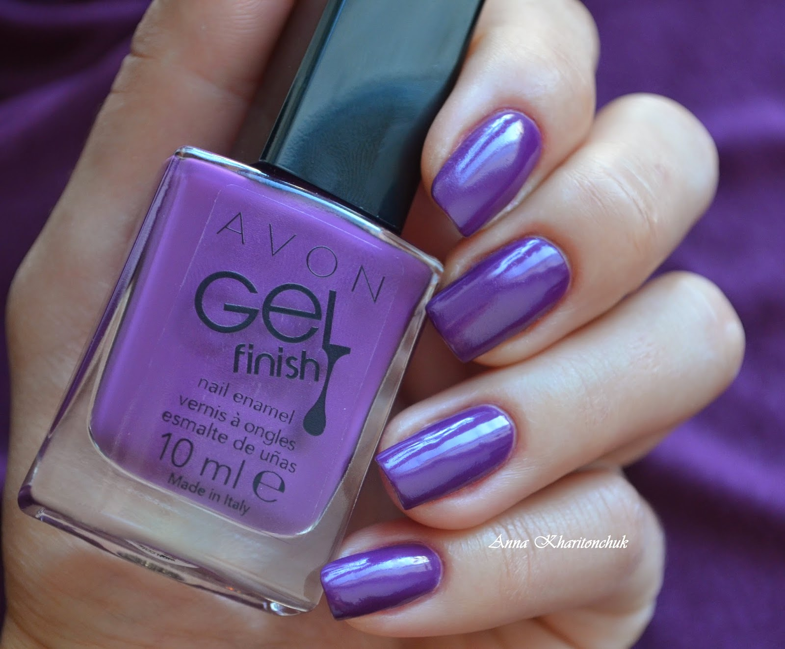 Avon Gel Finish Purplicious