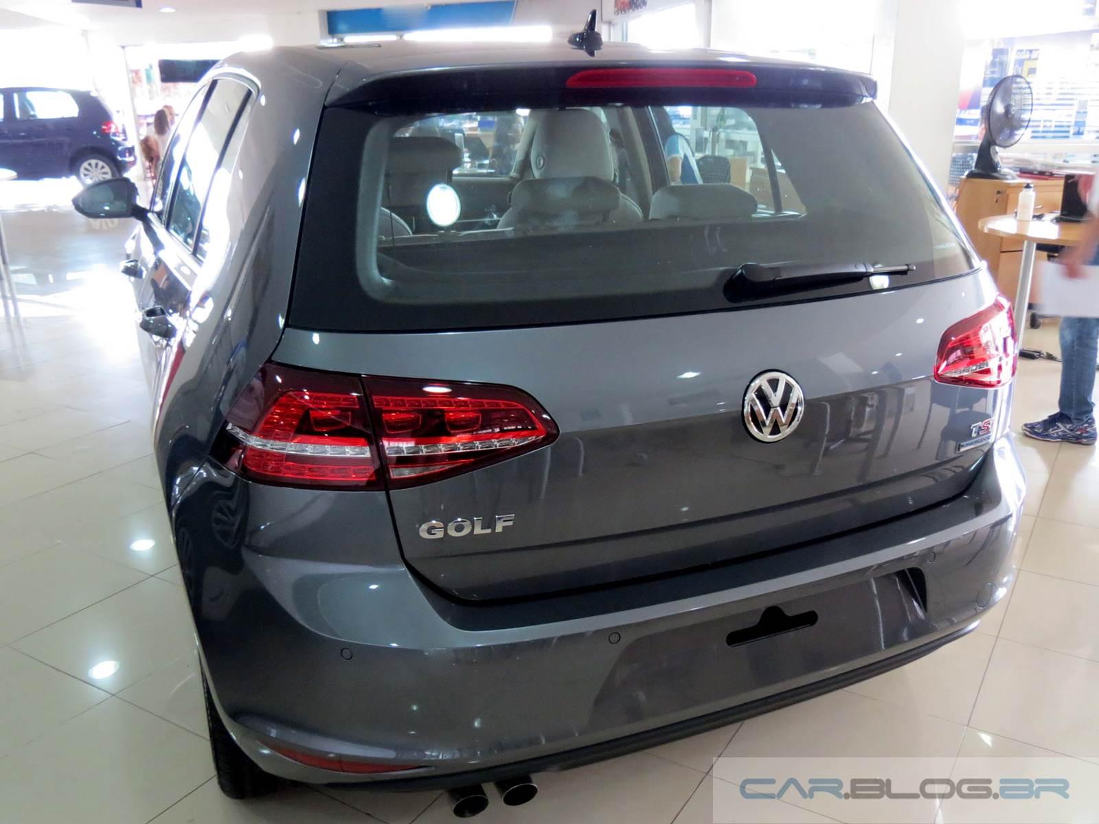 VW Golf 2015 Highline Exclusive: vídeo e detalhes internos   CAR.BLOG ...