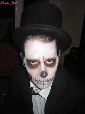 Shani 39 s nails halloween make up l 39 homme fait peur - Maquillage qui fait peur ...