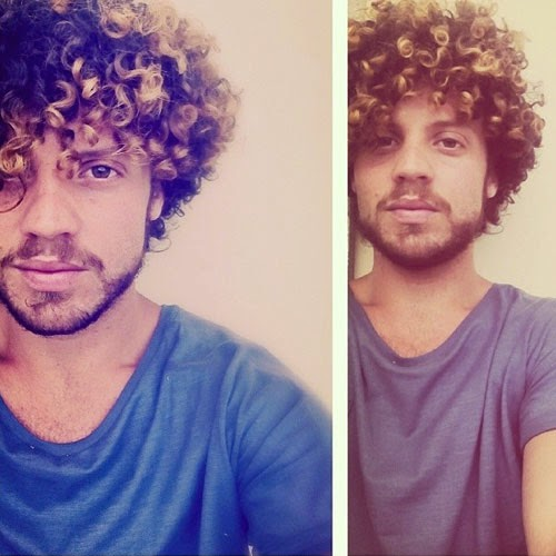 Cool Curly Hairstyles for Men 2015