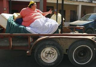 Homem mais gordo do mundo
