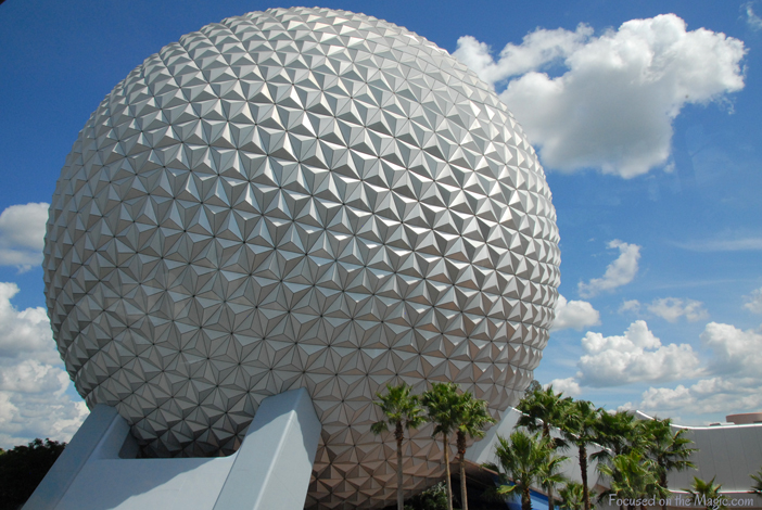 Spaceship Earth, Photo by Focused on the Magic.com