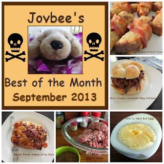 Best of the Month September 2013:  A recap of my most popular blog posts of September 2013