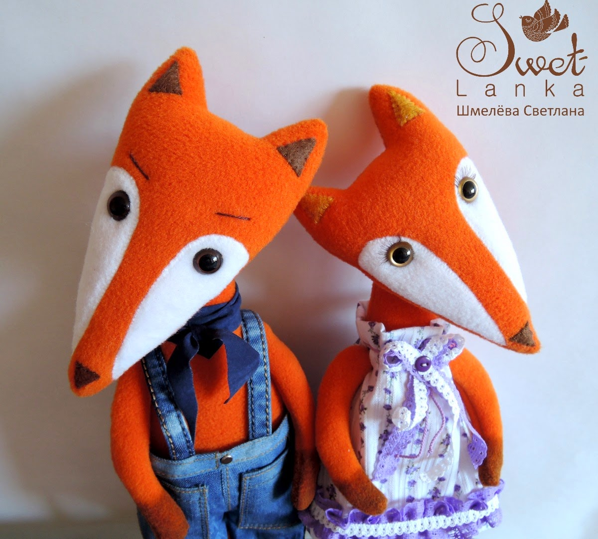 рыжие лисы