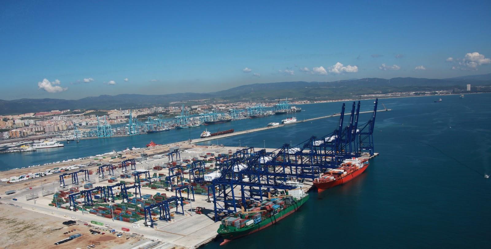 Puerto bah a de algeciras blog el tr fico de contenedores en las terminales del puerto de - Puerto de algeciras hoy ...