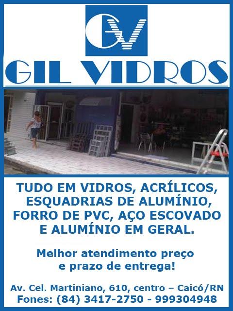 GIL VIDROS/CAICÓ
