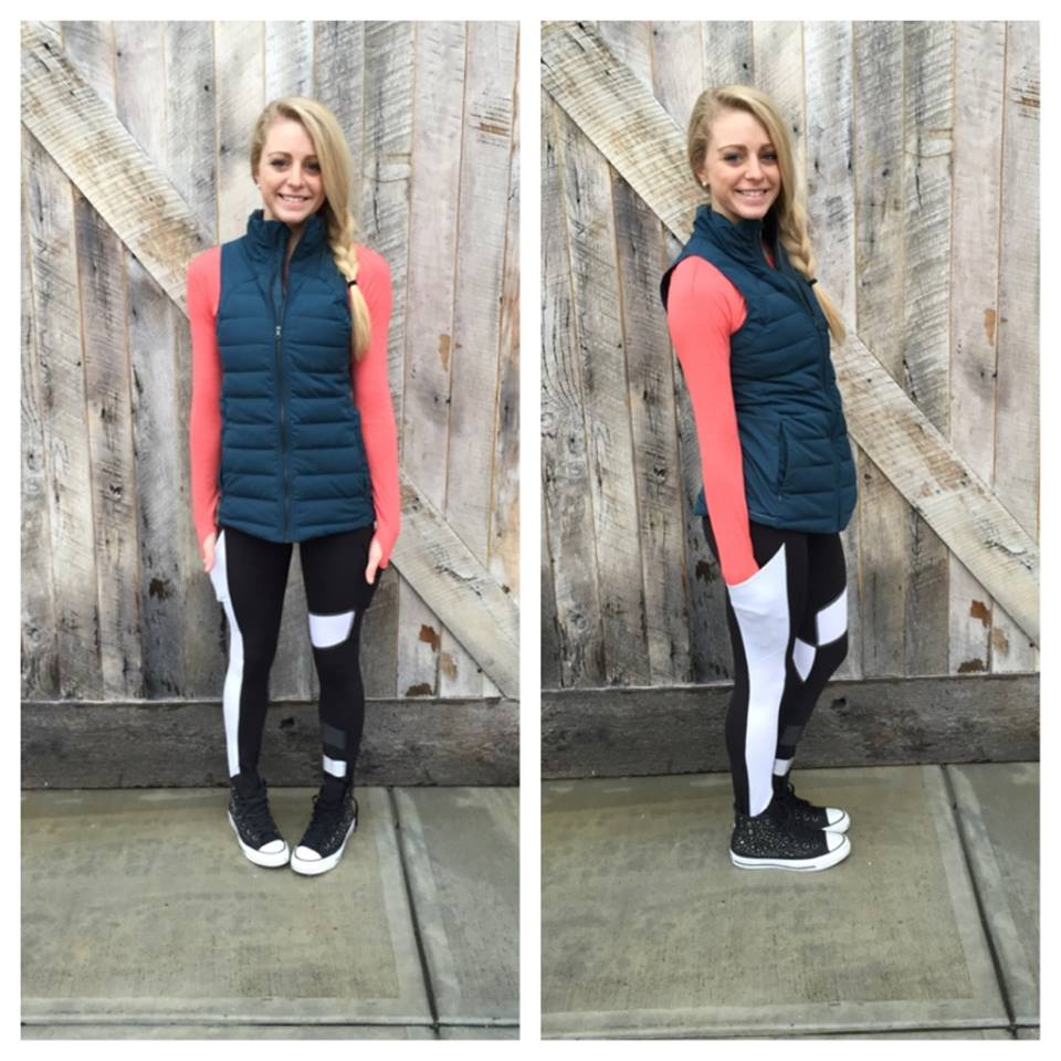 lululemon alberta lake fluffed up vest